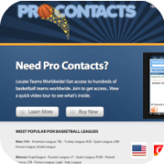 Pro Team Contacts