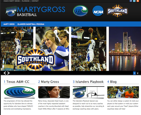 Marty Gross Basketball | Texas A&M Corpus Christi University Basketball_1313589463433